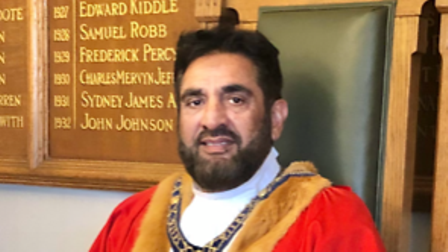 Pasco Hussain is the new mayor of St Ives.