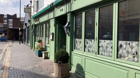 The Ivy Brasserie in St Albans will be re-opening on May 17.
