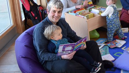 The Rushmere pop up library will be reopen later this month