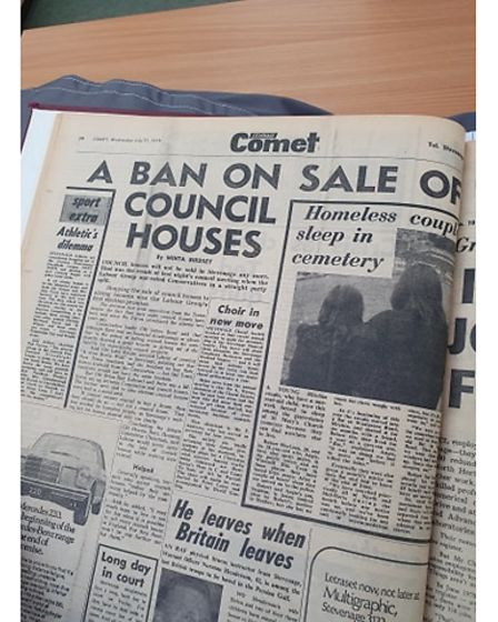 Ban on selling council houses the comet 1971