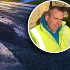 Borough and county councillor Carl Annison has tagged as 'a disgrace' the standard of resurfacing work in Hopton.