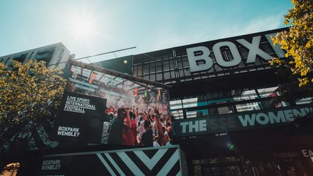 Boxpark Wembley is screening live sports events