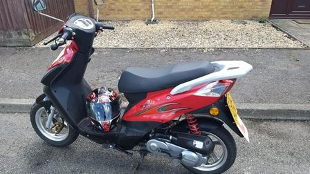 The staff member's scooter was stolen from The Helping Hands Group centre in Wisbech