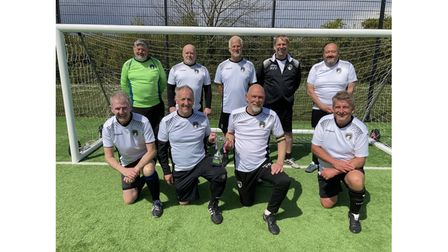 Weston Walking Football with the South West Super Cup