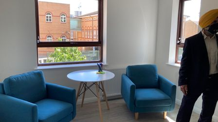 Counselling room at Ryedale project in Ilford Lane