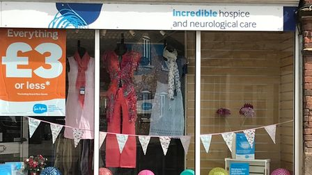 The Sue Ryder shop on Watton High Street was forced to close for 15 months due to lockdown and flooding