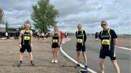 North Herts Road Runners took part in the Hatfield Five.