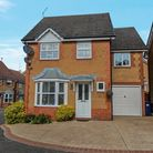 Front elevation family home Stukeley Meadows