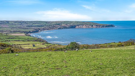 The sweeping view across to Robin Hood's Bay