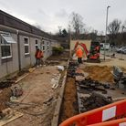 Work is ongoing to create the new Crocus Medical Centre at Saffron Walden Community Hospital