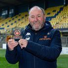 Gary Johnson was awarded the National League, Manager of the Month for April on Saturday, May8
