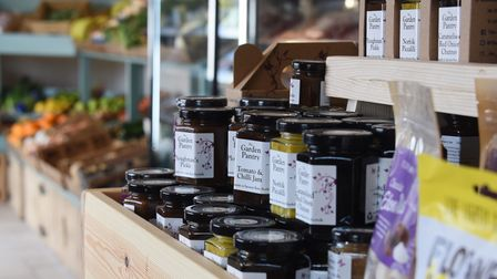 The new Hirst's Farm Shop and Cafe at Ormesby St Margaret. Picture: DENISE BRADLEY