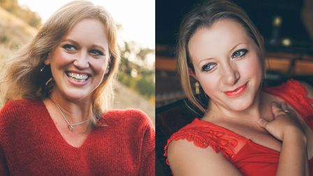 Renowned pianists Anna Tilbrook and Libby Burgess