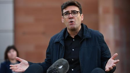 File photo dated 20-10-2020 of Greater Manchester mayor Andy Burnham. Issue date: Monday April 19, 2