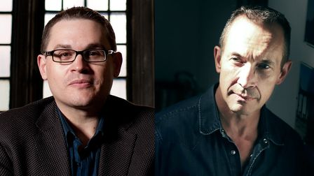 Composer andPresident of JAM Paul Mealor and opera and choral composer Jonathan Dove