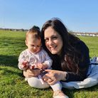 Cllr Peray Ahmet with her daughter
