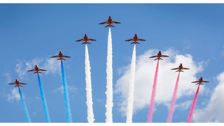 The Red Arrows are heading for the Sidmouth Airshow later in the summer