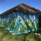 Craig & Tom of protest art gallery Static have revamped the old sports pavilion in Silver Jubilee Park