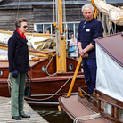 Princess Anne at Hunters Yard Ludham Norfolk