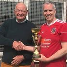 Richard Mellor Wisbech Town walking football captain