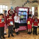 The vending machine has proved popular with the new readers