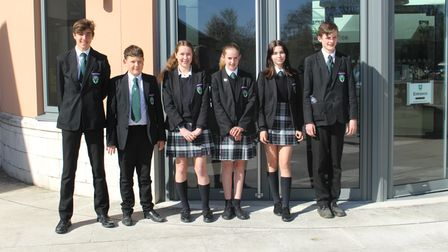 A group of Year 9 students from Saffron Walden County High School attended an online conference