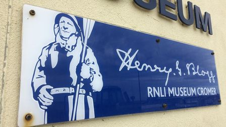 The RNLI Henry Blogg Museum in Cromer is reopneing again. Picture: Staff