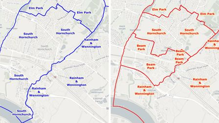 South Hornchurch ward changes