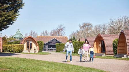 Vauxhall holiday park in Great Yarmouth is getting five new lodges.