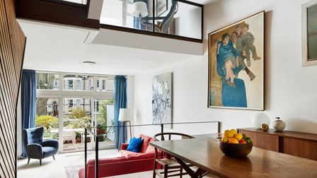 Interior of a Hampstead property designed by Ted Levy