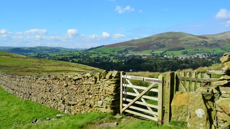 The town of Sedbergh is remote with easy access to the surrounding fells