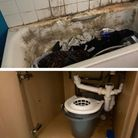 Mr Gallant claims the conditions at his flat are 'uninhabitable' and as a result he can no longer stay there