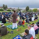 More than a thousand people braved the rain for the eighth year of Eid in the Field at Wanstead Rugby Club.