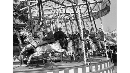 Free day for youngstersat Manning's in Felixstowe in March 1970