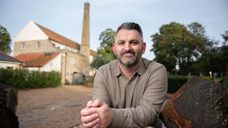 Tuddenham Mill has been voted the quirkiest. hotel in Britain. Chef Patron, Lee Bye . Picture: SARAH