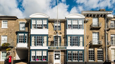 The Swan Hotel in Southwold is due to welcome back customers from April 17.