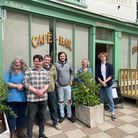 The team at The Shambles cafe and restaurant in North Walsham, from left, Rebecca Lysaght,