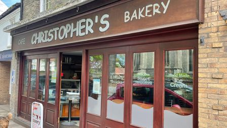 Christopher's Cafe and Bakery in Church Street, North Walsham.