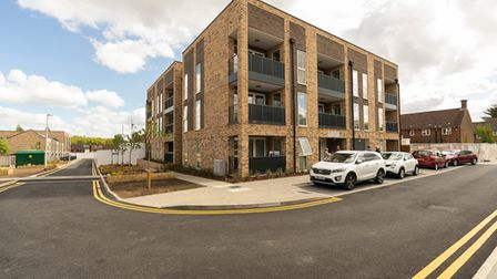 The development has 33 new homes, with a further 48 coming in the next two years.