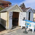 Felixstowe beach hut