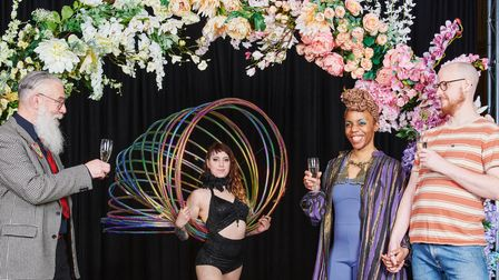 Norwich Arts Centre has launched Las Vegas-style weddings and parties.