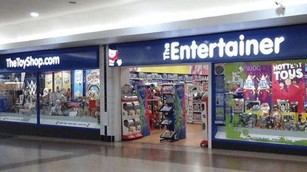 The Entertainer shop in Union Square, Torquay
