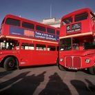 The vintage, refurbished Routemaster buses that are now being withdrawn
