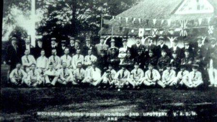 Honiton bowlers in 1916