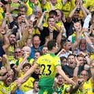Norwich City's Kenny McLean celebrates scoring his side's first goal of the game during the Premier