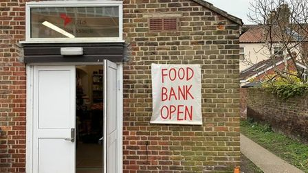 A new foodbank has been set up in The Living Studio at the Adat Yeshua synagogue in Essex Street, No