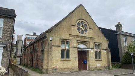 The Adat Yeshua Messianic Synagogue on Essex Street in Norwich. Picture: David Hannant.