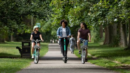 Beryl bike and scooter users