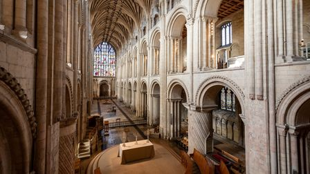 Quiet Cathedral. Photograph: Norwich Cathedral/Bill Smith