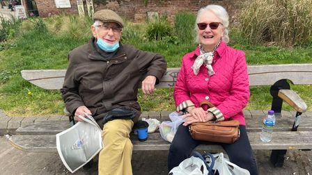 John and Irene Bale said they would hate another lockdown to have to be imposed in response to the Indian Covid-19 variant